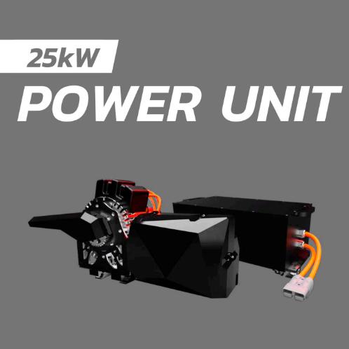 BSR 2.0 Electric racing kart power unit 25 kw